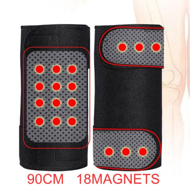 1 Pair Tourmaline Knee Pads Magnetic Therapy Kneepad Belts Self Heating Magnet Protector Pad Magnetic Knee Belt rodillera imanes
