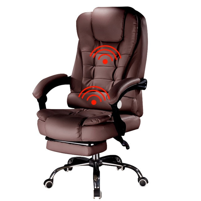 Special offer chair office chair computer boss chair ergonomic chair with footrest