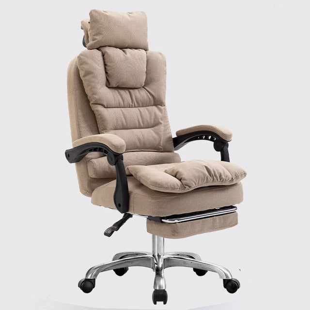 2020 new chair executive silla oficina staff leisure computer chair  swivel function arozzi silla piel comfortable design  bedroom  chair  with footrest