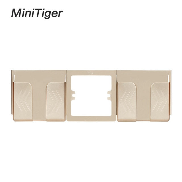 Minitiger Grey Wall Socket Phone Holder Smartphone Accessories Stand Support For Mobile Phone One / Two Phone Holder