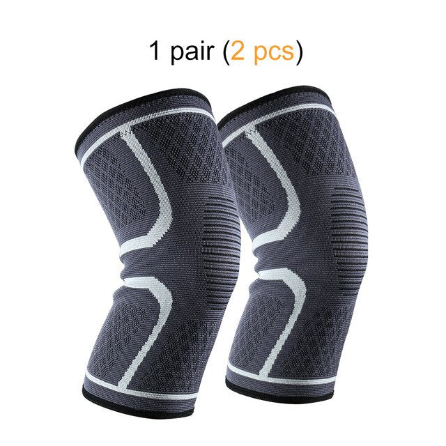 Ship from USA 1 Pair Knee Brace Knee Compression Sleeve Support for Men Women Running Hiking Arthritis ACL Meniscus Tear Sports