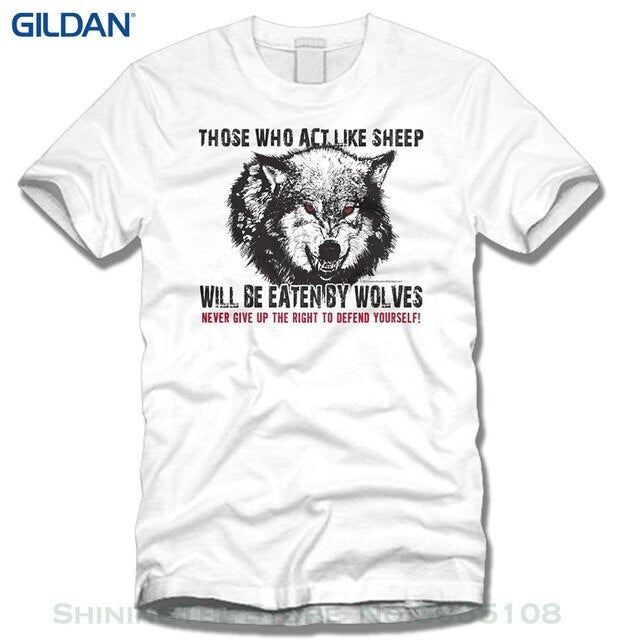 Summer Couple Homme Hipster New Those That Choose To Be Sheep Will Be Eaten By Wolves. Designed & Ships From The Usa