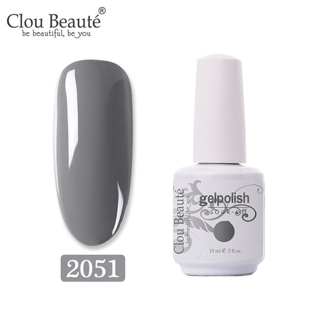 No Wipe Top Coat Base Coat Primer UV Gel Nail Art Tips Manicure Gel Nail Polish Color Gel Polish esmalte semi permanente