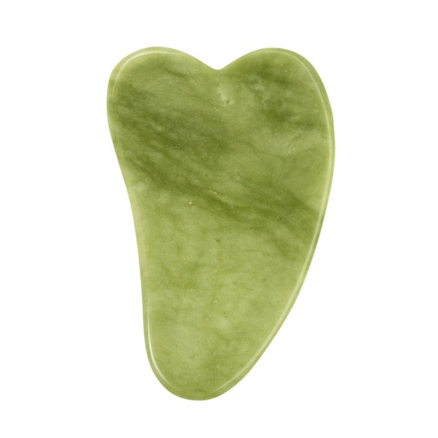 Natural Jade Face Massager Gua sha Scraper Board Facial Guasha Meridian Muscle Relaxation Skin Lifting Face Thin Gouache Scraper