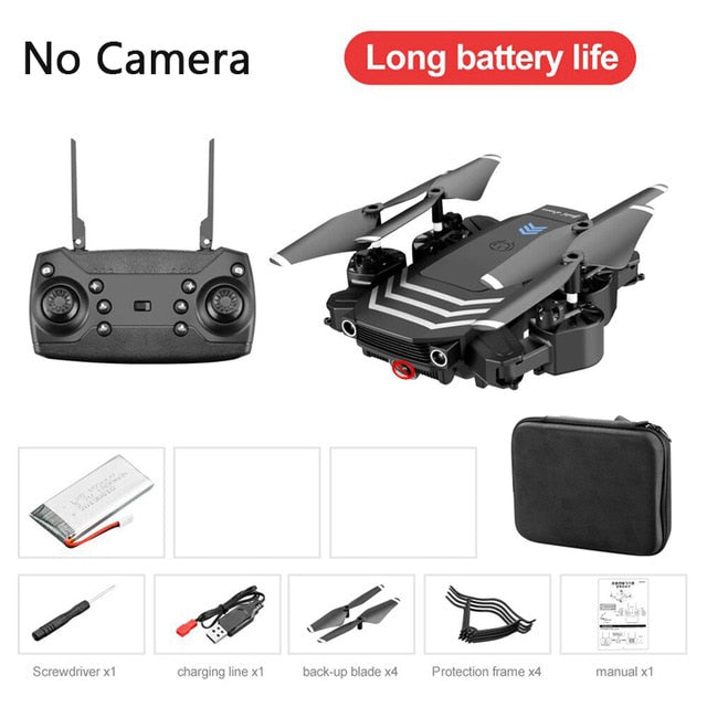 LS11 RC Drone 4K Quadcopter With Camera HD 1080P FPV Drones Foldable Dron Professional Altitude Hold Flying 18min Quadcopter Toy