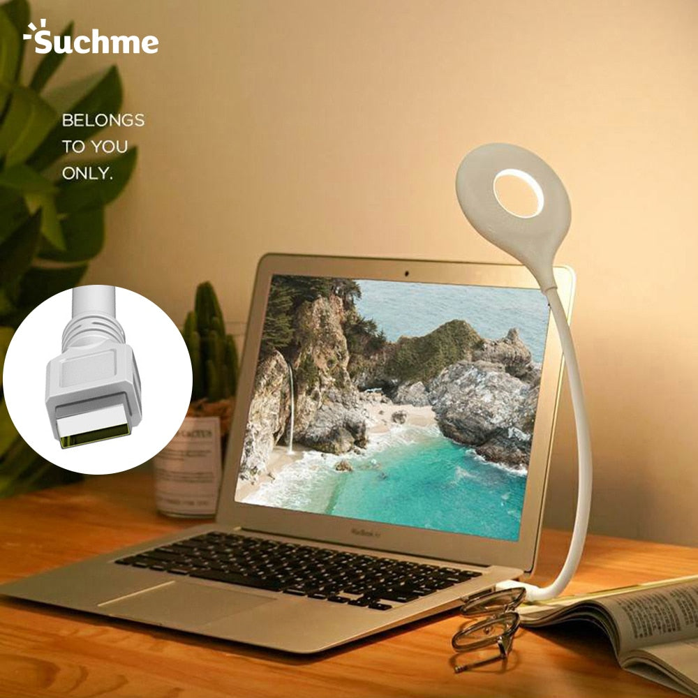 Suchme USB Lamp Table Lamp USB LED Lamp Table Top Lanterns Flexo PC Lamps Study Reading USB Lamp KL-X7008