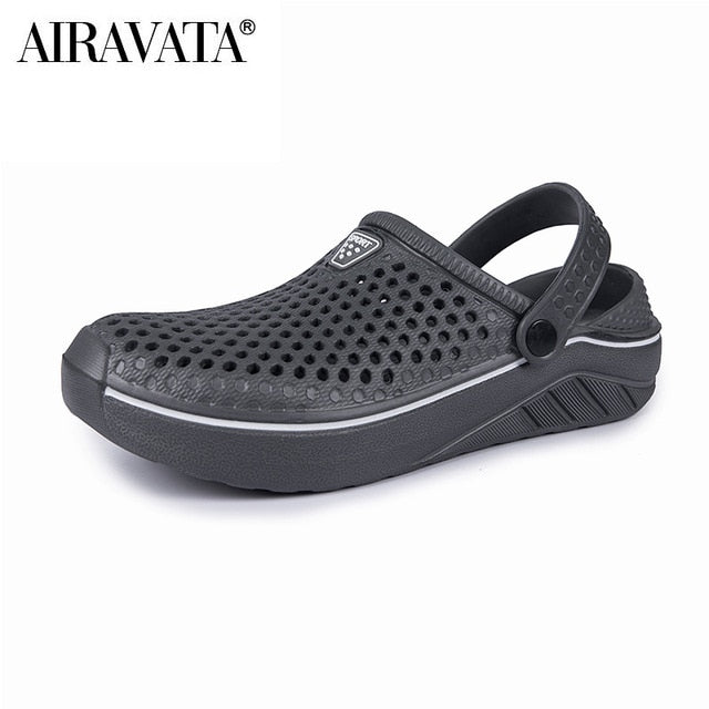 Men Women Summer Sandals Breathable Beach Shoes Garden Clogs Size 36-45