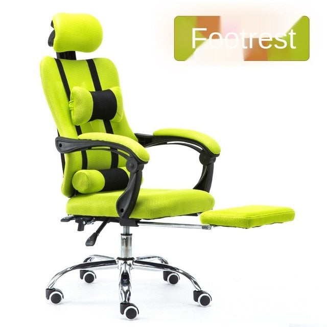 Professional Office Chair Ergonomic Gaming Chair Computer with Liftable Boss Armchair Rotatable Office Chair for WCG Adjustable