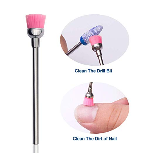 Milling Cutter For Manicure Ceramic Mill Manicure Machine Set Cutter For Pedicure Electric Nail Files Nail Drill Bit Feecy