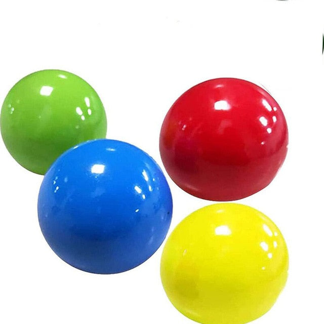 Globbles Fidget Toy, Sticky Balls, Stress Relief Sticky Target Balls, Gift for Kids and Adults