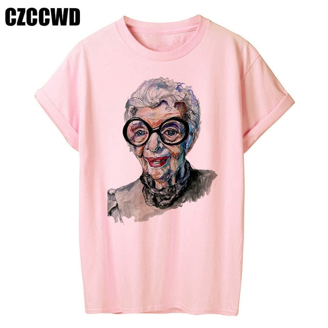 Yellow Plus Size Tshirt Women Summer Vogue Print Lady Casual T-Shirt Tops Harajuku Streetwear Short Sleeve O-Neck Tees Tshirt