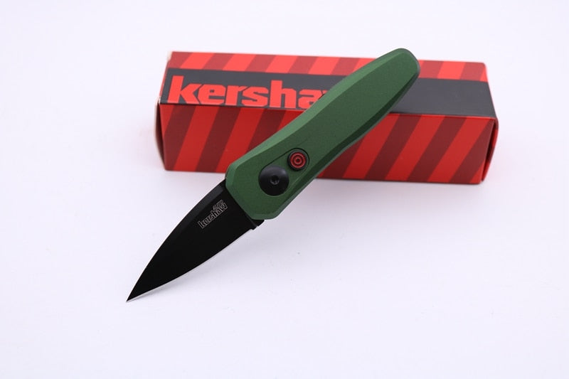 Ship From USA Kershaw knife 7500 Pocket Folding Knife 440C Blade 6061-T6 Handle Fruit Kitchen Knife Survival Tactical Knife auto