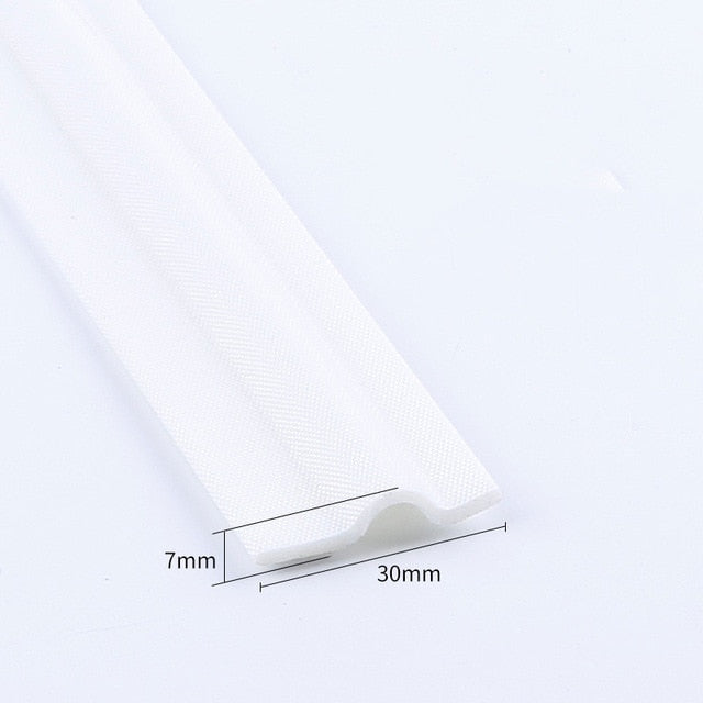 4M Self Adhesive Window Door Seal Strip mousse acoustic soundproof foam seal tape Weather Stripping gap Filler Window Hardware