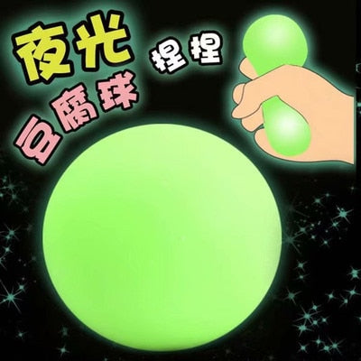 Fidget Toys 7cm Colorful Soft Foam TPR Squeeze Balls Toys for Kids Children Adults Stress Relief Funny Toys