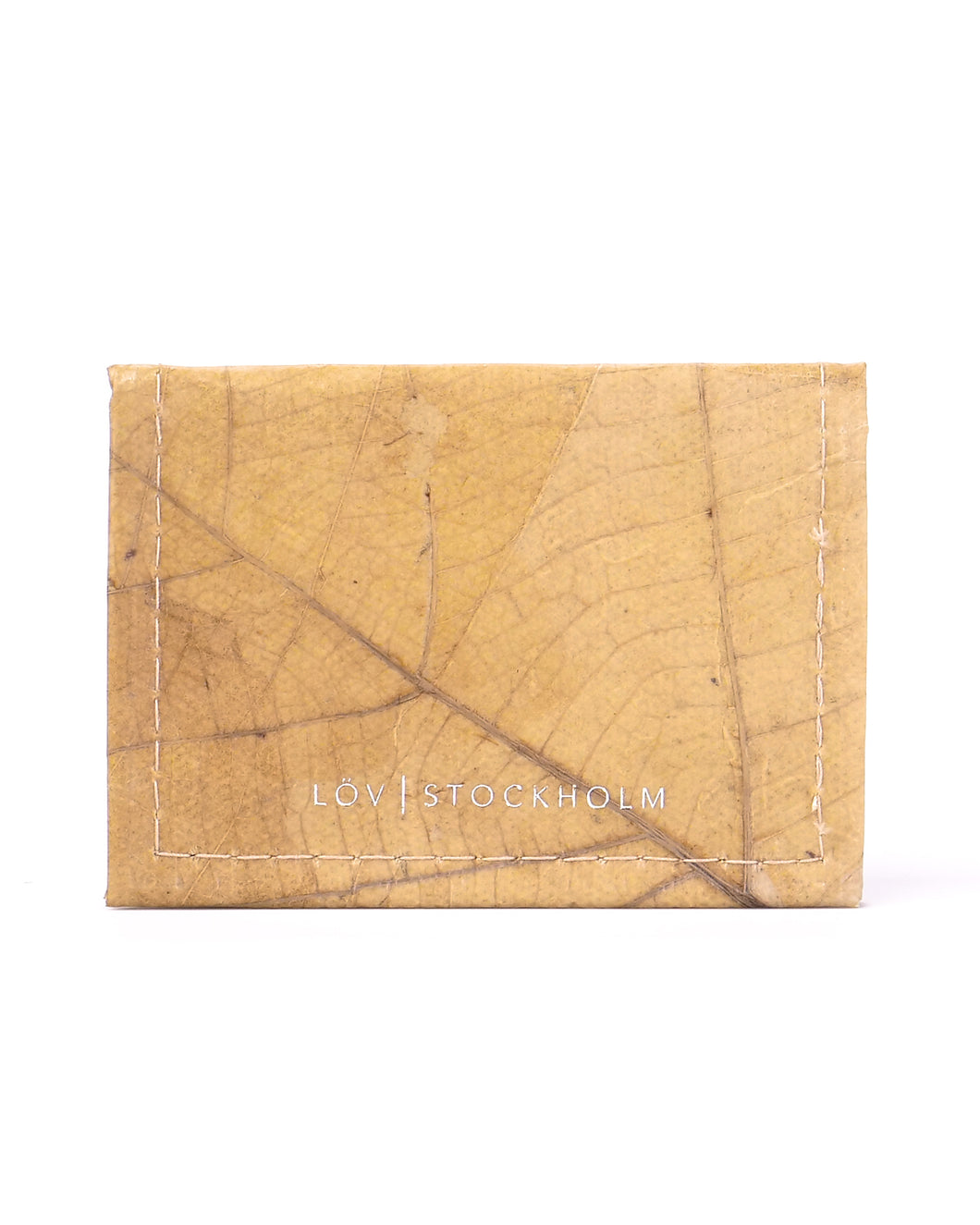 Bi-fold card holder - Natural