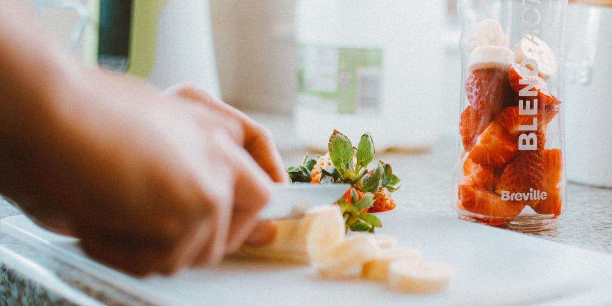 Eating the right, nutritious foods to avoid stress related hair loss