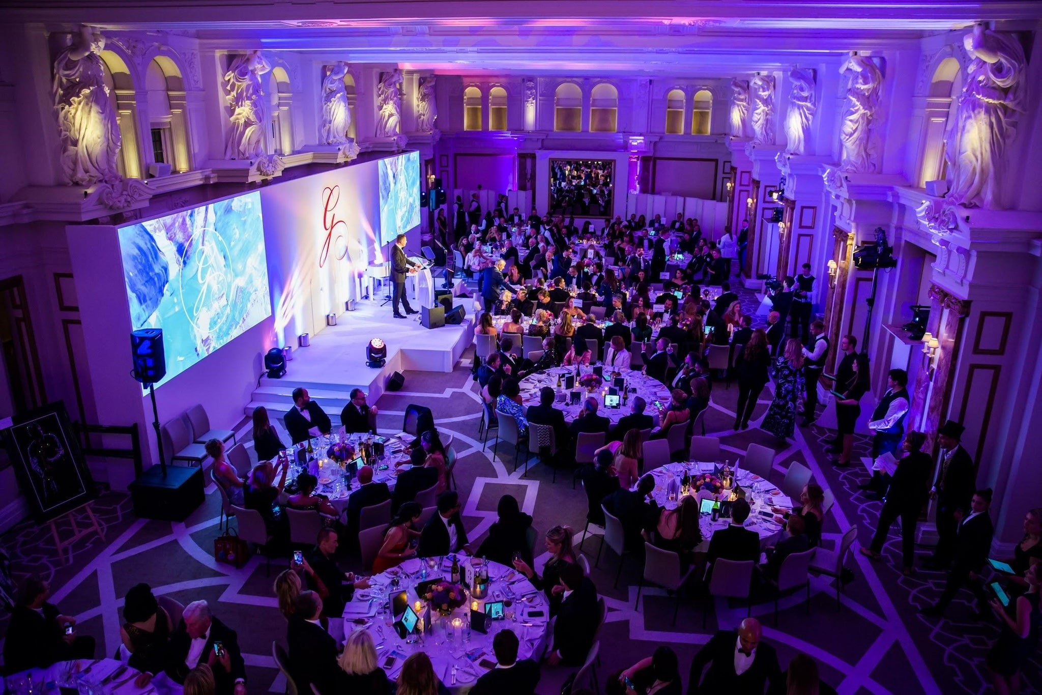 Simone Thomas Wellness Attends London's Global Gift Gala in 2019