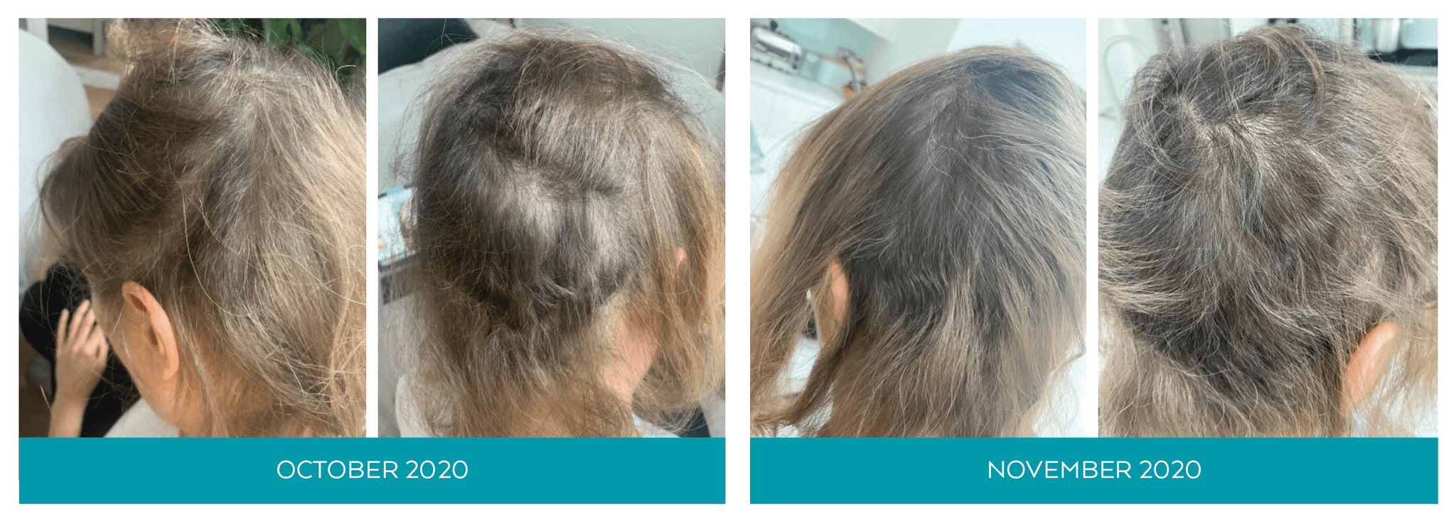 Paula, Client Testimonial Hair Transformation - Before & After