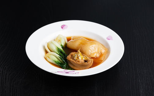 Braised South African Abalone 5 Heads with Fish Maw