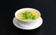 Vegetarian sweetcorn soup