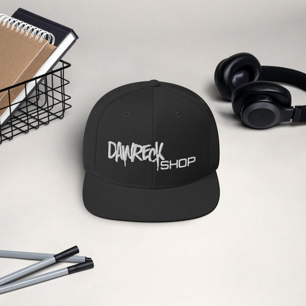 DaWreck Shop B/W Hat 001
