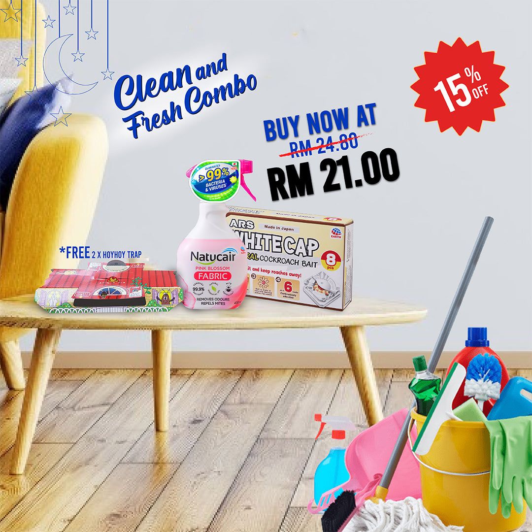 Sinaran Wanita Clean and Fresh Combo