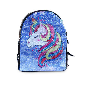 Fashion Sequin Backpack Kids Unicorn