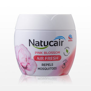 Natucair Air Freshner Mosquito Repellent Gel Pink Blossom