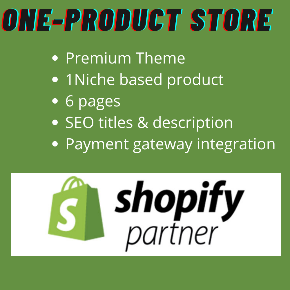 Store - One Product