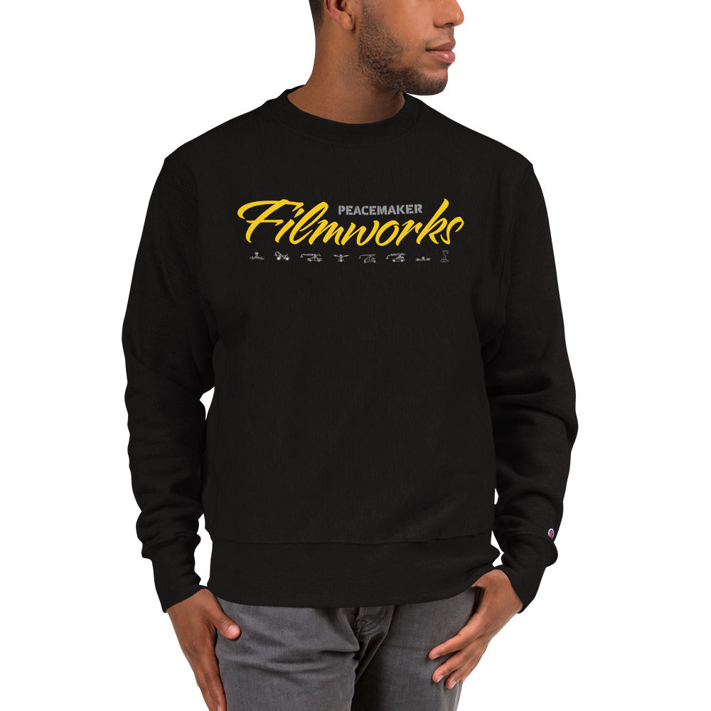 Scripted Mens Crew Sweatshirt