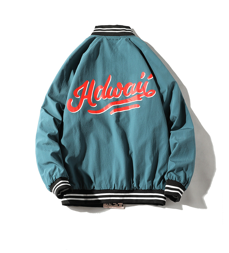 Men's Bomber Jacket Loose