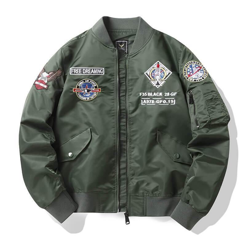 Men's Bomber Jacket MA1 Aviation