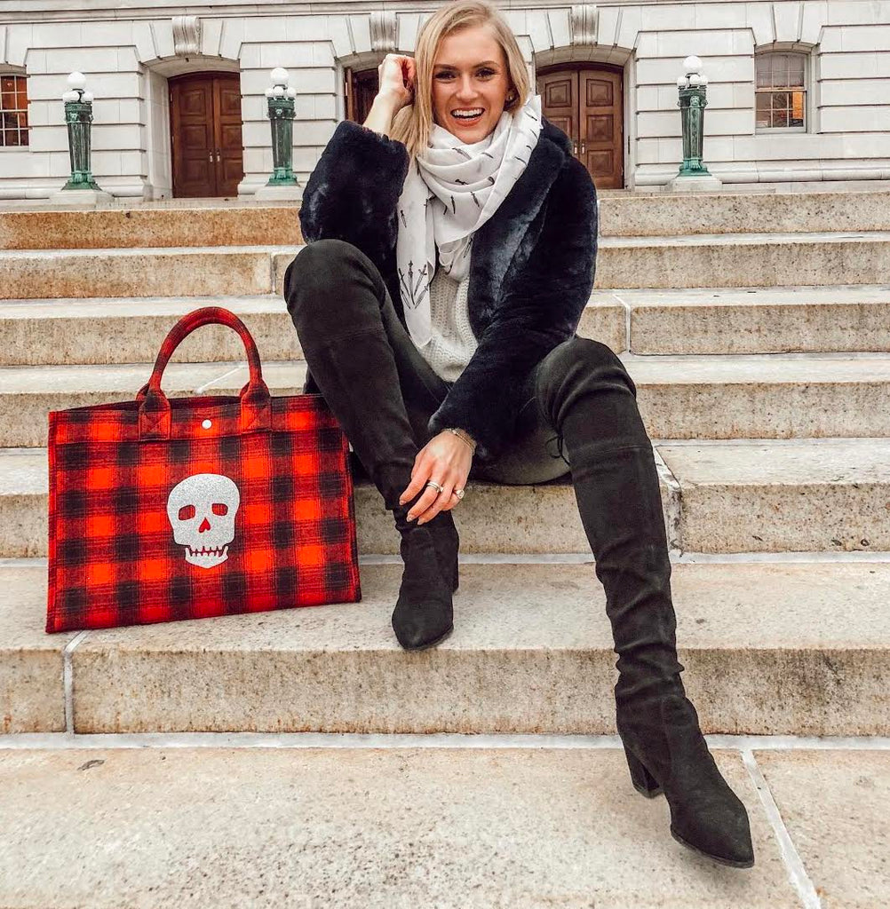 East West Bag: Red Flannel Plaid   JUST $88 with code GLAM