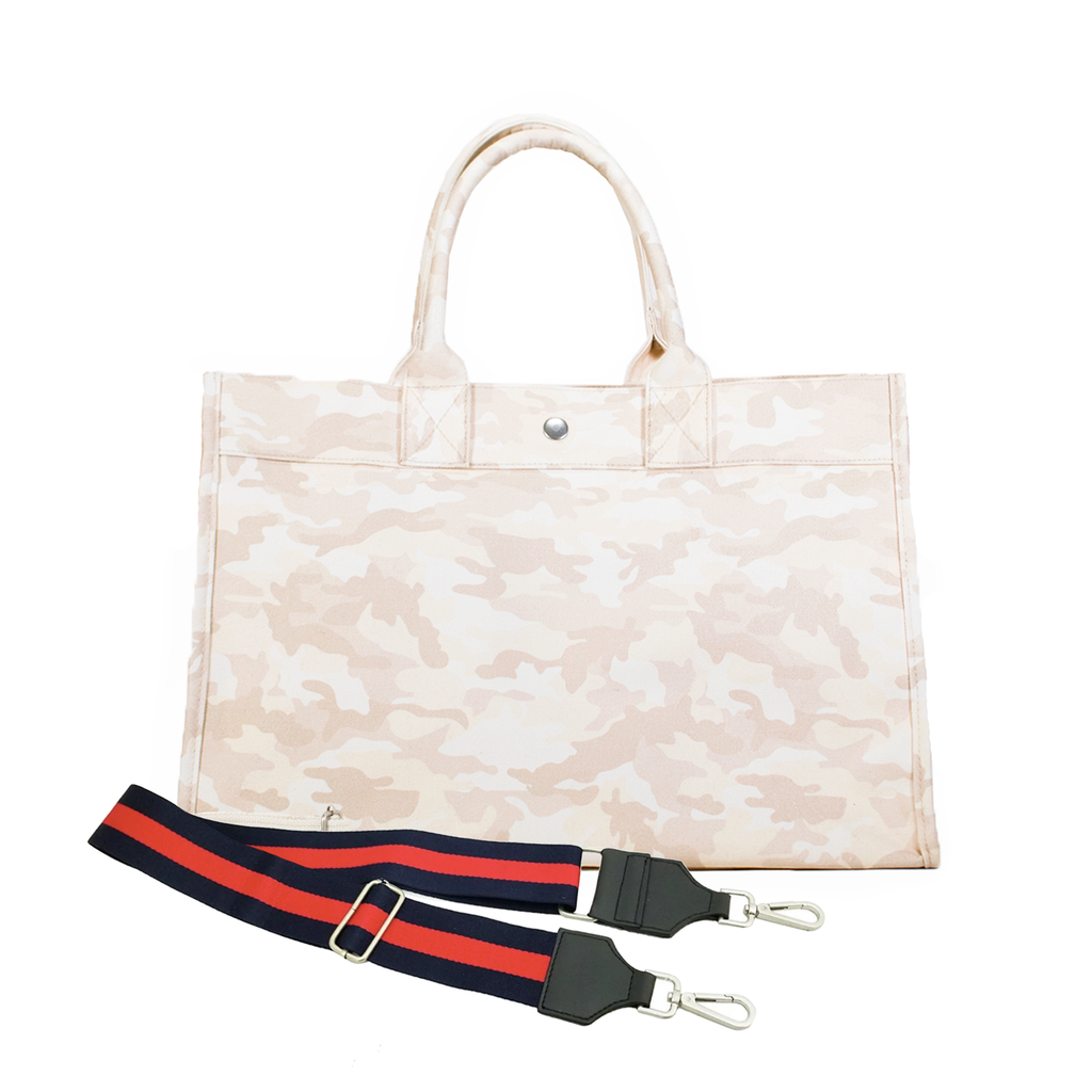 Mini Monogram Midi East West Bag: Blush Camouflage