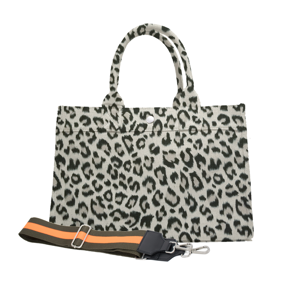 Mini Monogram Midi East West Bag: Leopard
