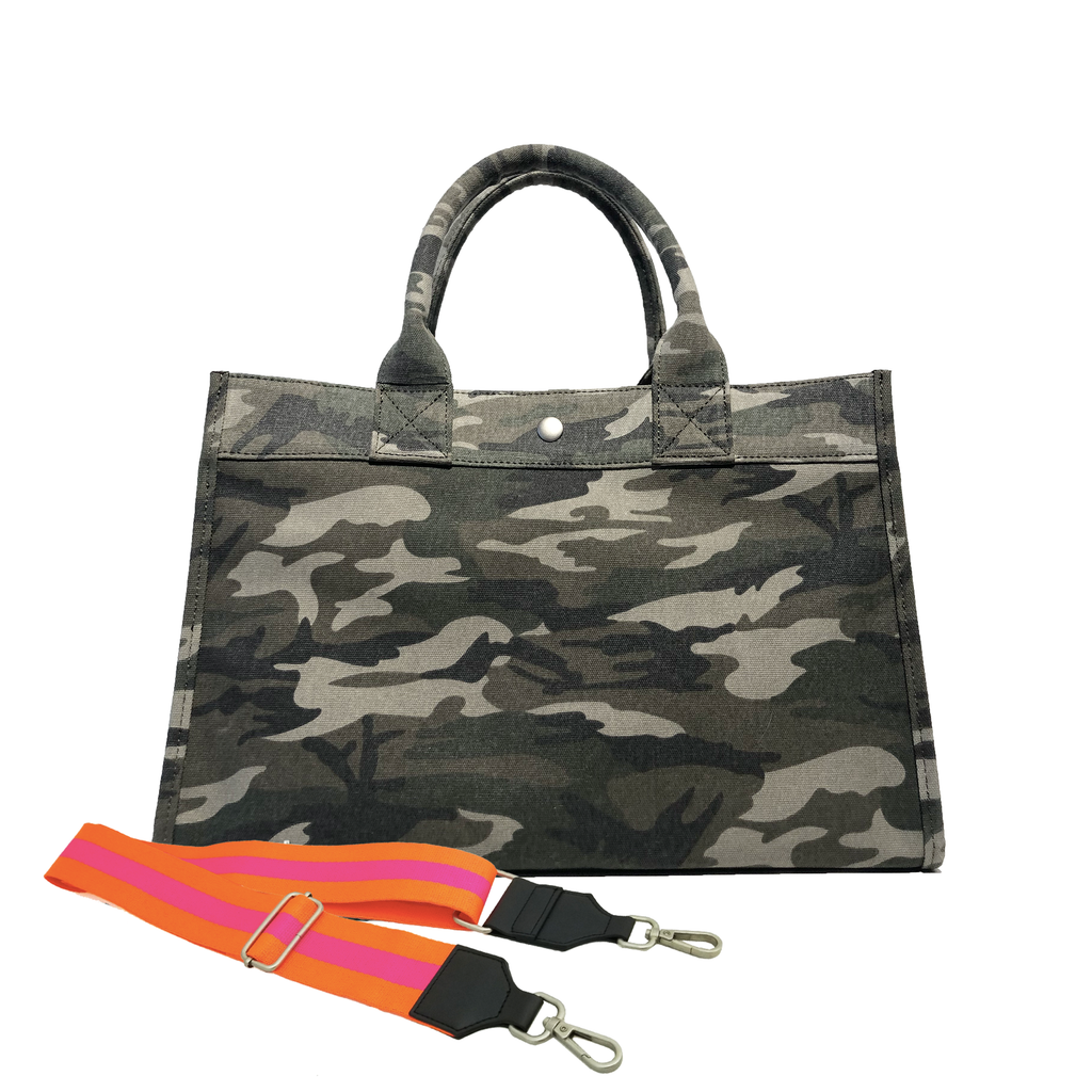 Mini Monogram Midi East West Bag: Green Camouflage