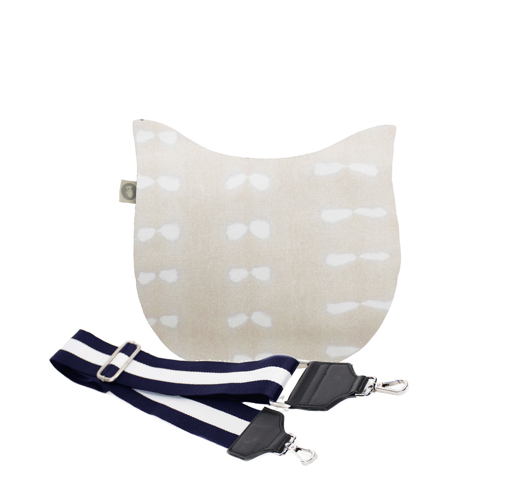 Mini City Bag: Stone Shibori
