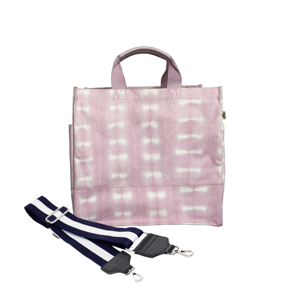 Color Stripes: Luxe North South Pink Shibori