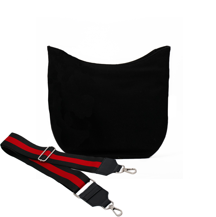 Black Mini City Bag with Black/Red Strap Only $67 + FREE Strap ($174 value for only $67 with code: MINI67)