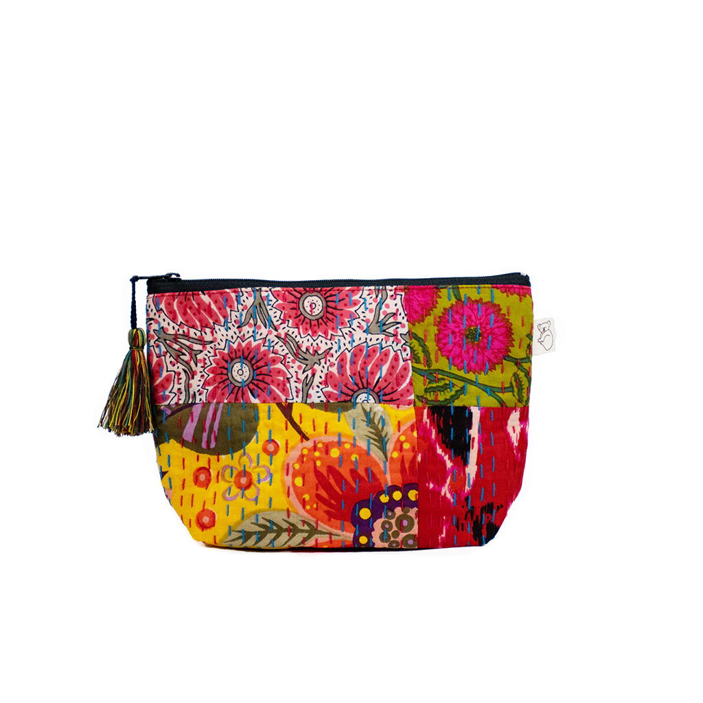 Koala Boho Collection: Makeup Bag in Bright Multi