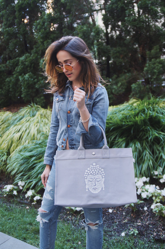 East-West Bag: Grey