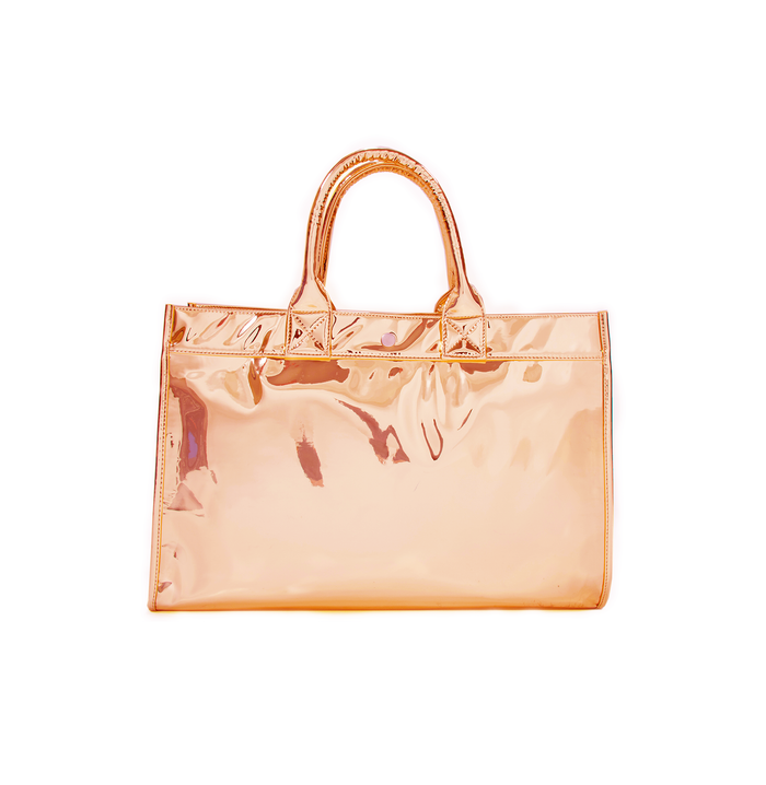 East West Bag: 24K Rose Gold