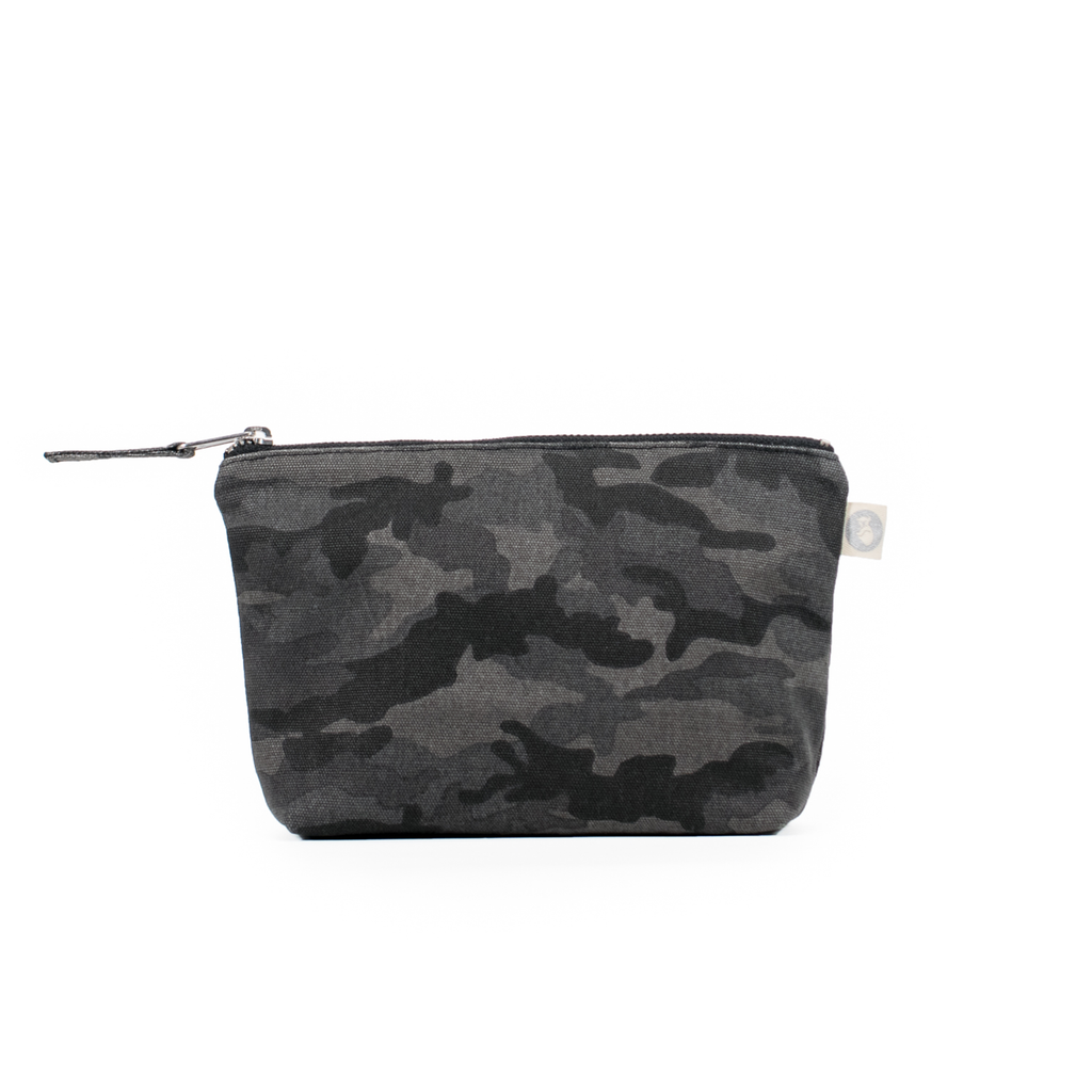 Makeup Bag: Black Camouflage Back in Stock!
