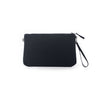 Luxe Clutch with Wristlet: Black