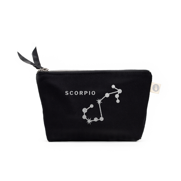 Zodiac Sign: Makeup Bag  - Scorpio