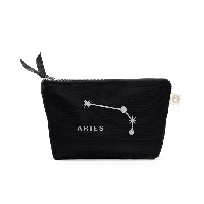 Zodiac Sign: Makeup Bag  - Aries