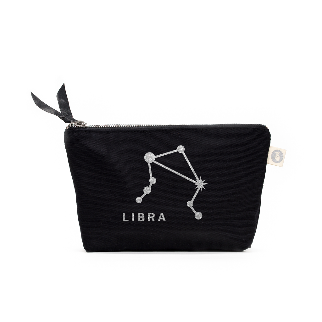 Zodiac Sign: Makeup Bag  - Libra