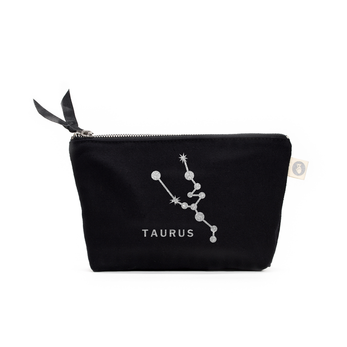 Zodiac Sign: Makeup Bag  - Taurus