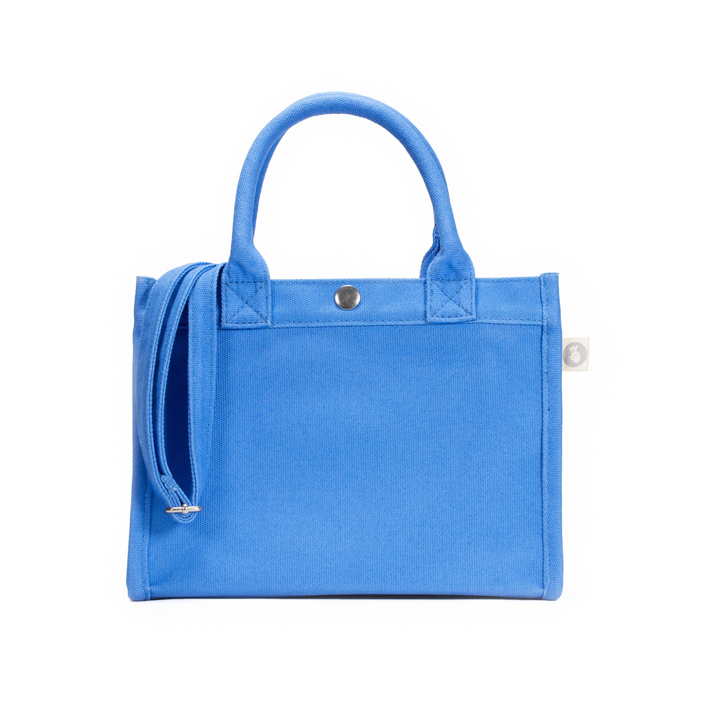 Mini East-West Bag: Blue Just $54 with code SPRING