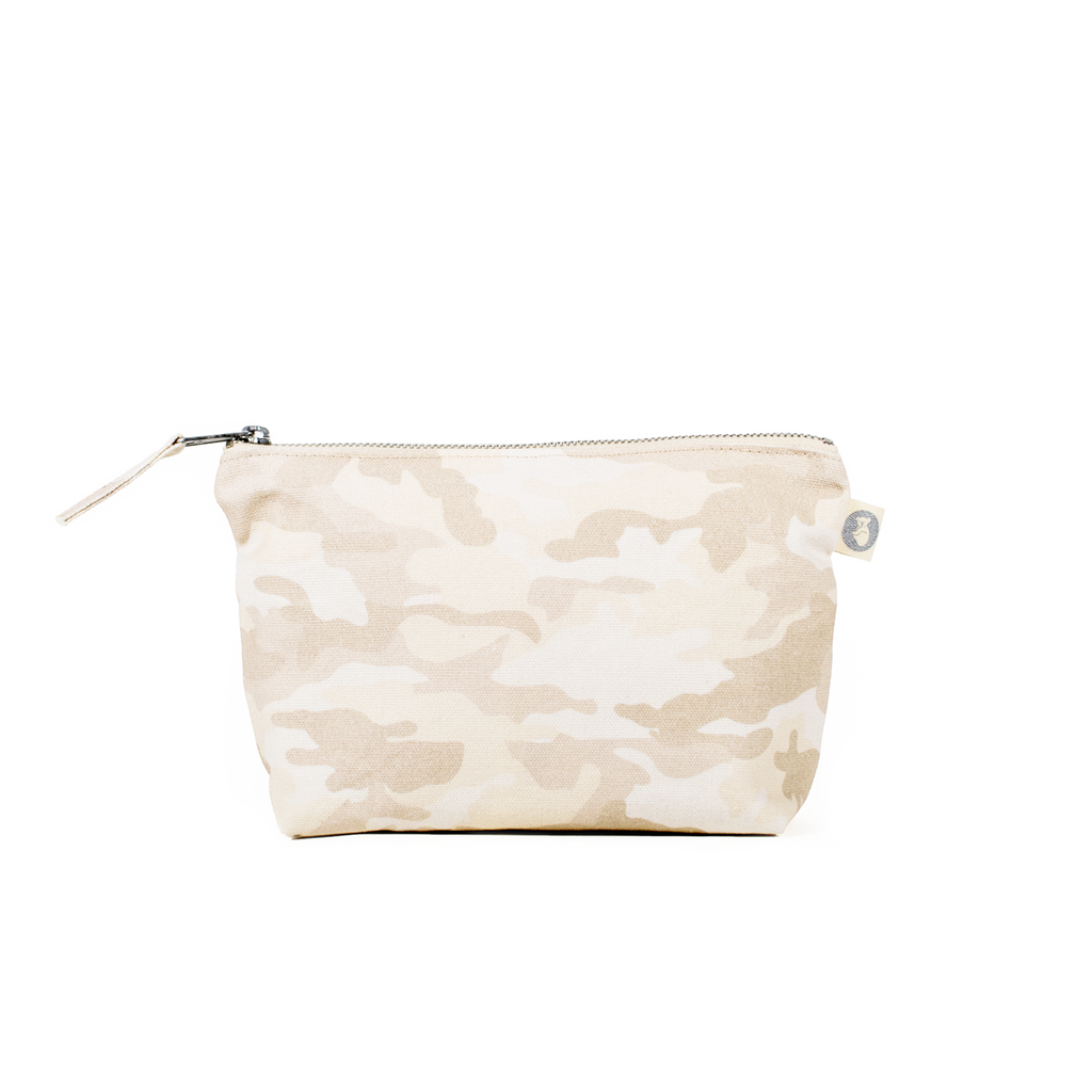 Makeup Bag: Blush Camo